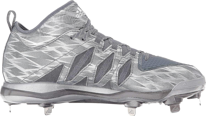 detailed pictures cc536 3af26 Amazon.com   adidas Men s Dual Threat Baseball Blue   Baseball   Softball
