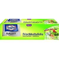 Toppits Frischhaltefolie 200 m, 1er Pack (1 x 1 Stück), inkl. Abreishilfe