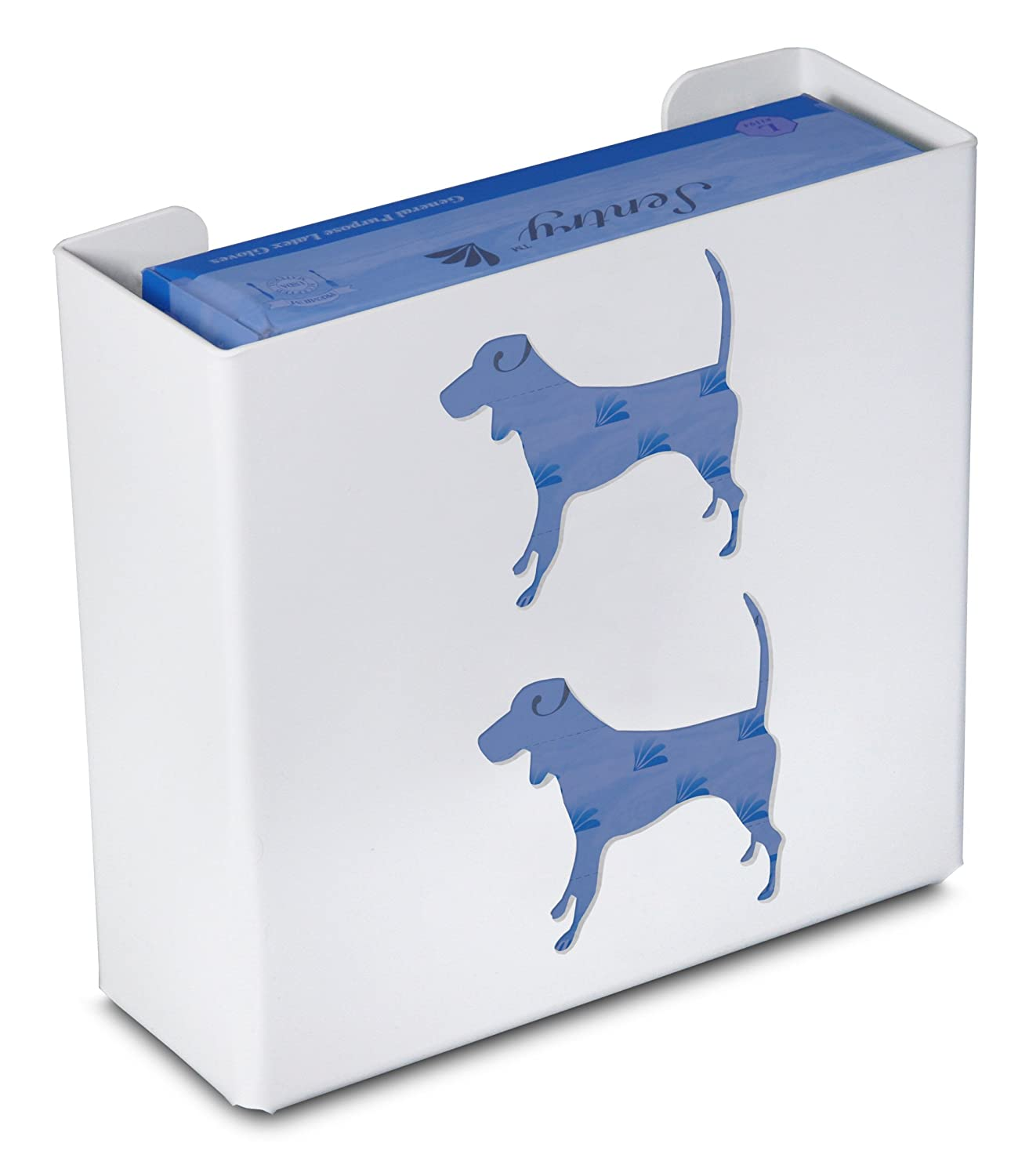 TrippNT 50771 Priced Right Double Glove Box Holder with Dog, 11' Width x 10' Height x 4' Depth 11 Width x 10 Height x 4 Depth