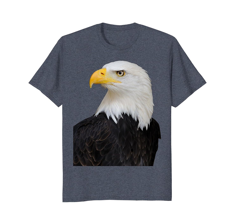 Bald Eagle T-shirt Bald Eagle Bird Face Tee-AZP