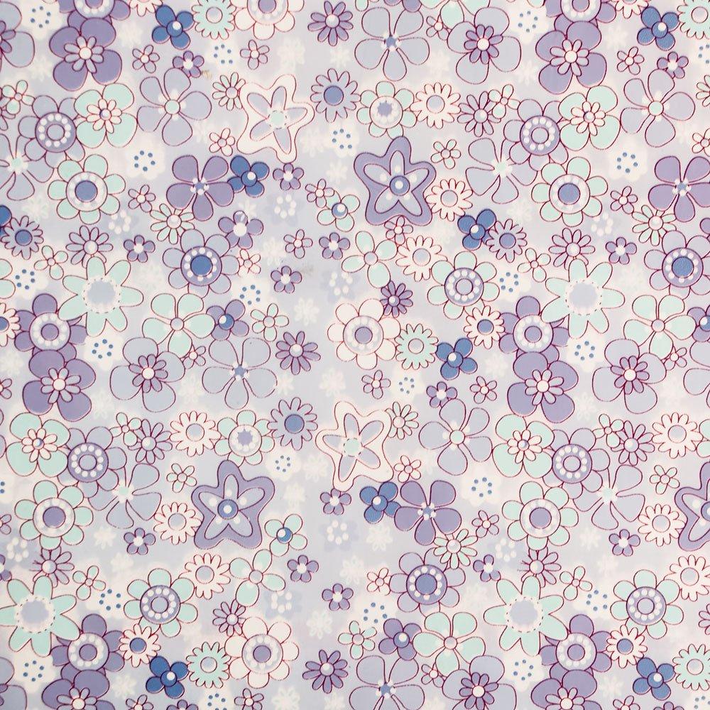 Purple Flowering Shrubs - Self-Adhesive Wallpaper Home Decor(Roll) Blancho Bedding