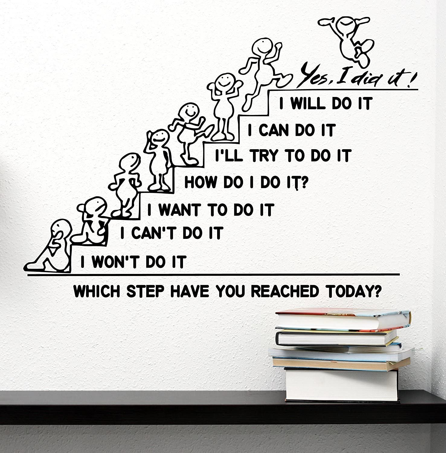 Office Wall Decals Stickers Office Quotes Wall Decals Inspirational Decals for Office Wall Decals for Office Office Wall Decor Wall Decal for Office Wall Stickers for Office School Office Wall Decals
