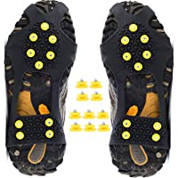 Ice Cleats Snow Grips Anti-Slip Oveshoes Traction Gear for Hiking