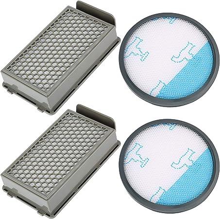 Cabiclean Kit de filtro Cabiclean para ZR005901 Compatible para aspiradoras ciclónicas Rowenta Tefal Compact Power, paquete de 3: Amazon.es: Hogar