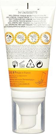La Roche-Posay ANTHELIOS XL, Gel-crema Toque Seco Anti Brillo, SPF 50+, 50 ml