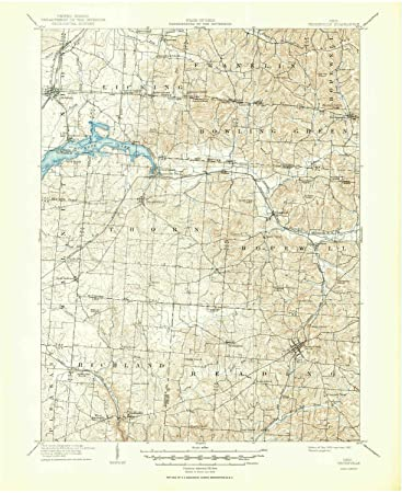 Amazon Com Yellowmaps Thornville Oh Topo Map 1 62500 Scale 15 X