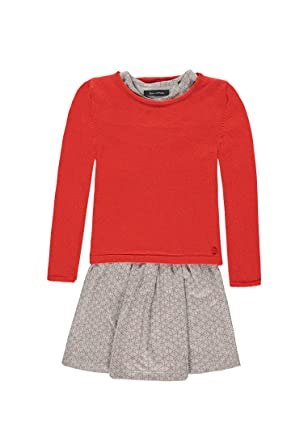 Marc O Polo Zwiko Kleid 1 4 Mit Pullover 1 1 Arm Robe Fille Rot