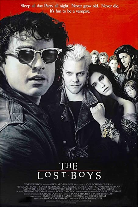 makeuseof The Lost Boys Movie Silk poster 24x36 inch