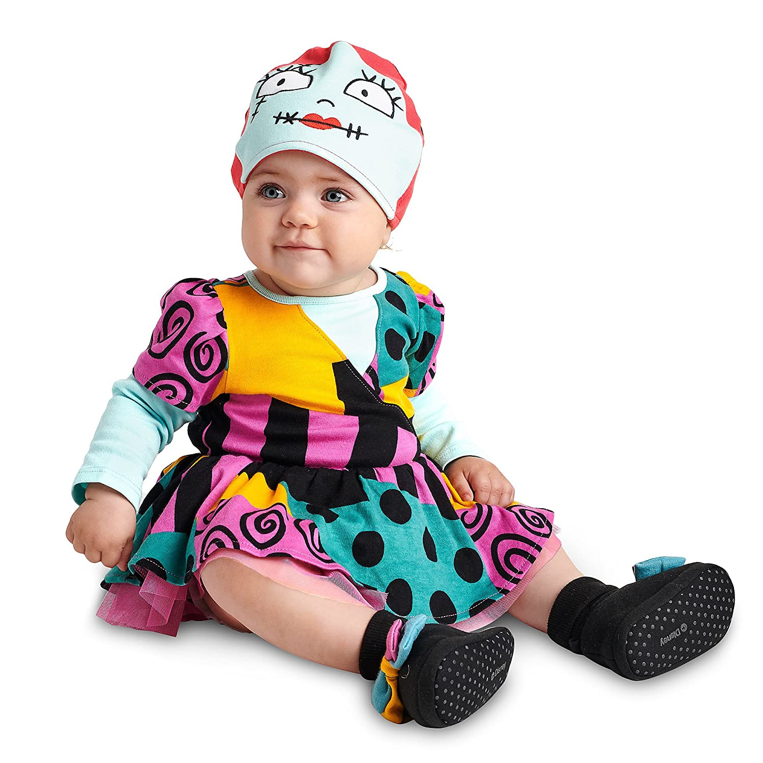 Disney Baby Sally Costume Bodysuit with Hat 12-18 Month New Nightmare Christmas