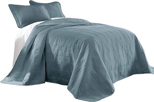 16 Colors Chezmoi Collection Austin 3-piece Oversized Bedspread Coverlet Set
