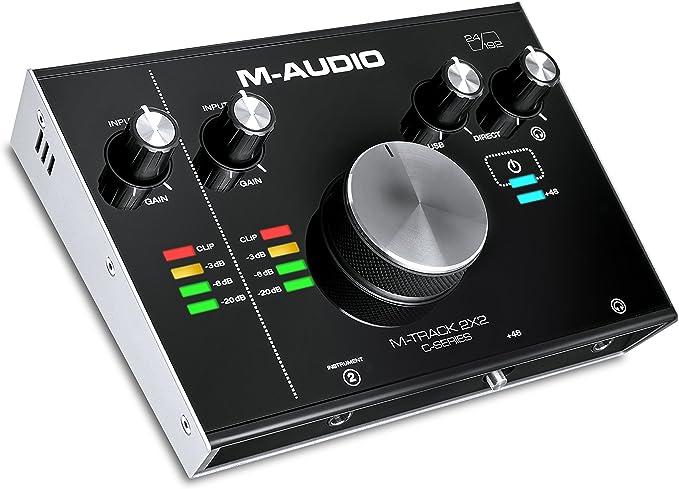 Amazon.com: M-Audio M-Track Vocal Studio Pro Negro unidad de ...