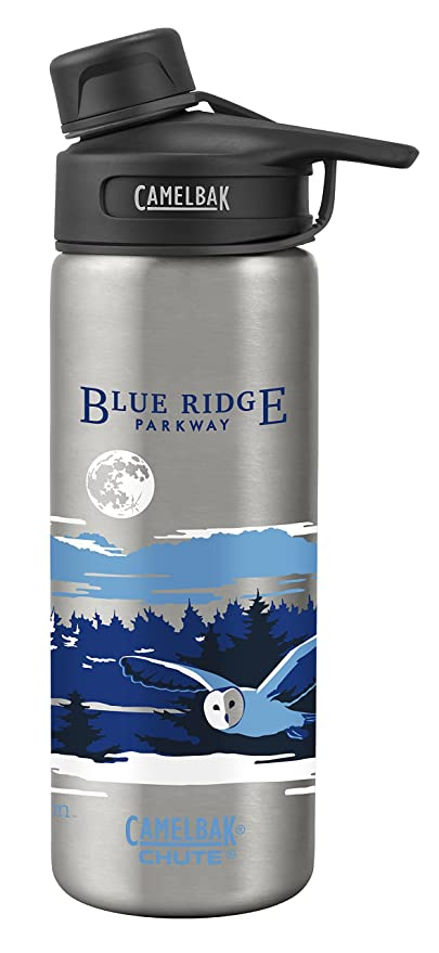 45eaf62eb6 CamelBak Chute Vacuum Insulated Stainless National Parks Water Bottle, Blue  Ridge National Parkway, 20