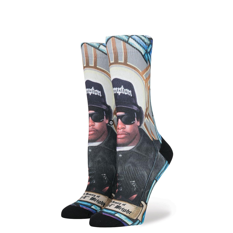 Stance 'Praise Eazy-E' Socks. Multi. M545D17EAZ