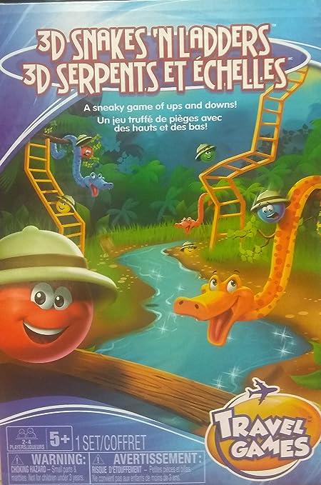TCG Toys 3D Snakes /& Ladders