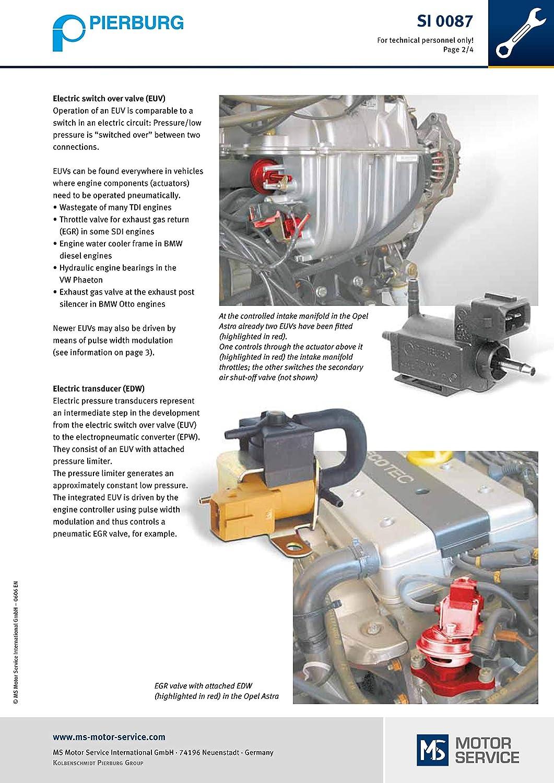 Pierburg Electric Valve Electrical 12 V 7.22240.09.0#OEM 9155936 For VOLVO 9155936