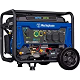 Westinghouse Outdoor Power Equipment WGen3600DF Dual Fuel (Gas and Propane) Electric Start Portable Generator 3600 Rated 4650