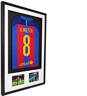 Light oak do it yourself frame for signed shirt plus 2 landscape vivarti diy adult 3d mounted double aperture sports shirt display frame 61 x 915cm solutioingenieria Gallery