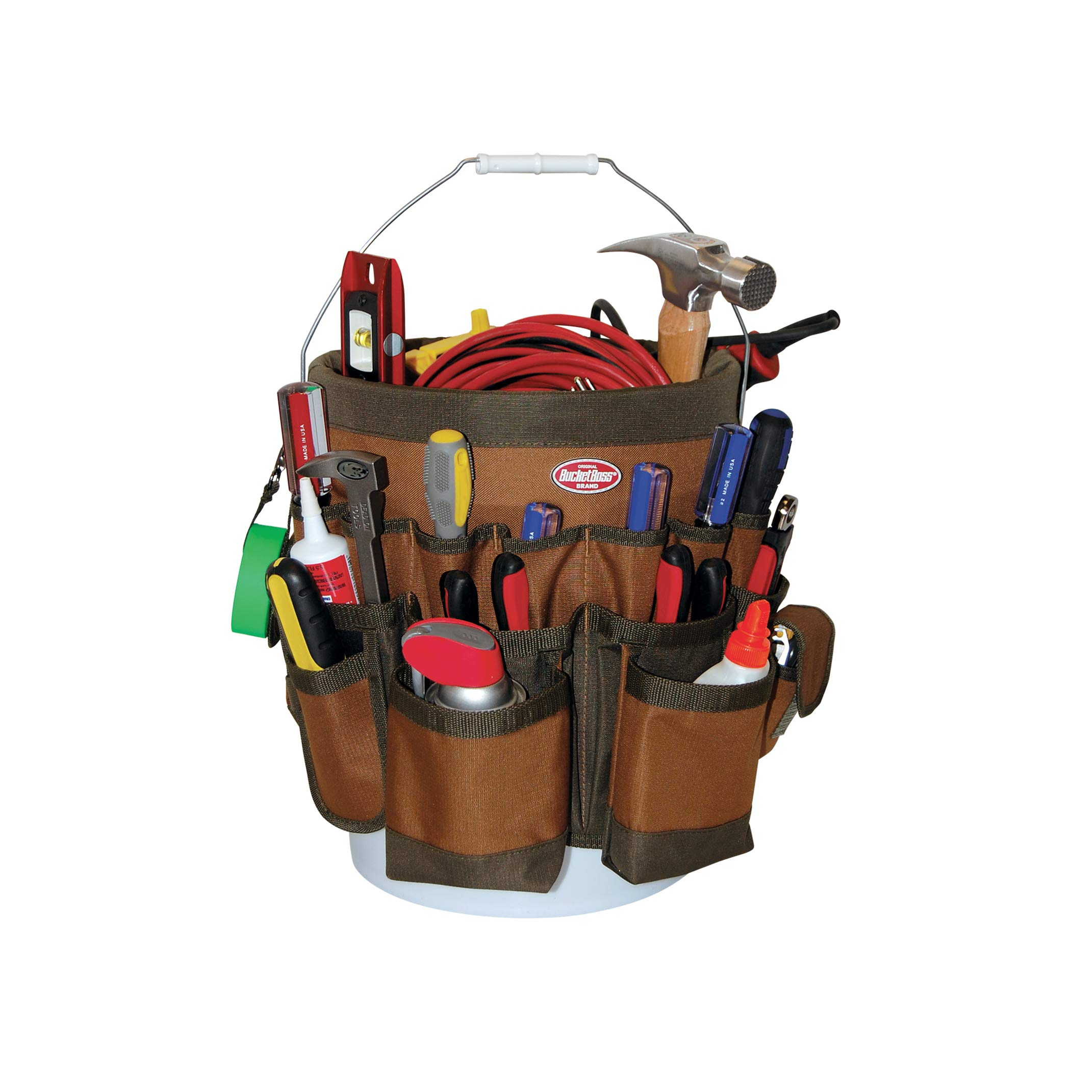 Bucket Boss 56 Bucket Tool Organizer in Brown, 10056 by Bucket Boss (Image #4)