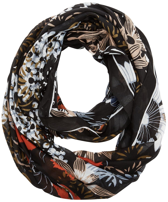 PIECES Pcjesu Tube Scarf PB, Bufanda para Mujer Multicolor (Black) Talla única 17083970
