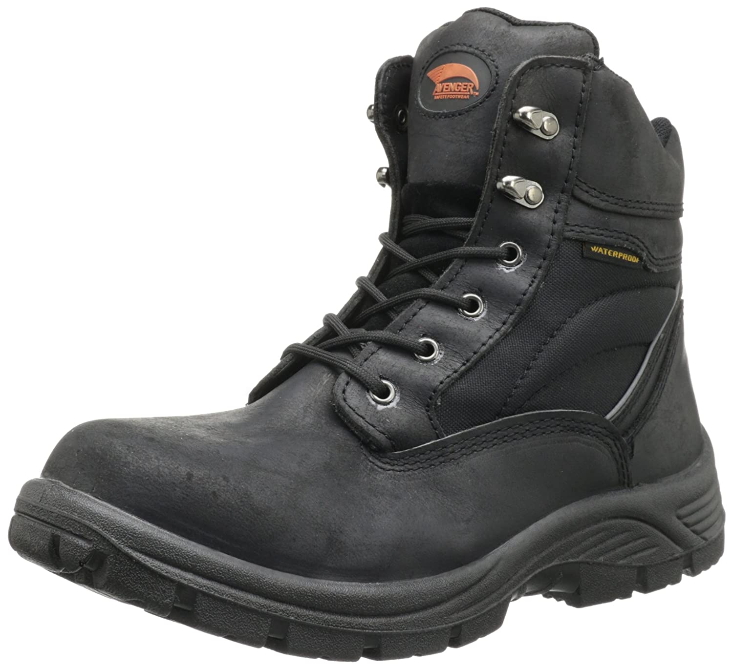 Avenger Safety Footwear メンズ B00BQBC5RS  ブラック 14 C/D US