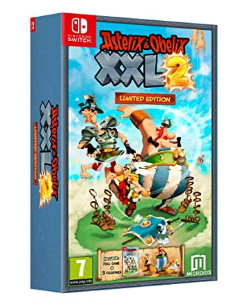 Asterix And Obelix Xxl2 Limited Edition Nintendo Switch Amazon Co