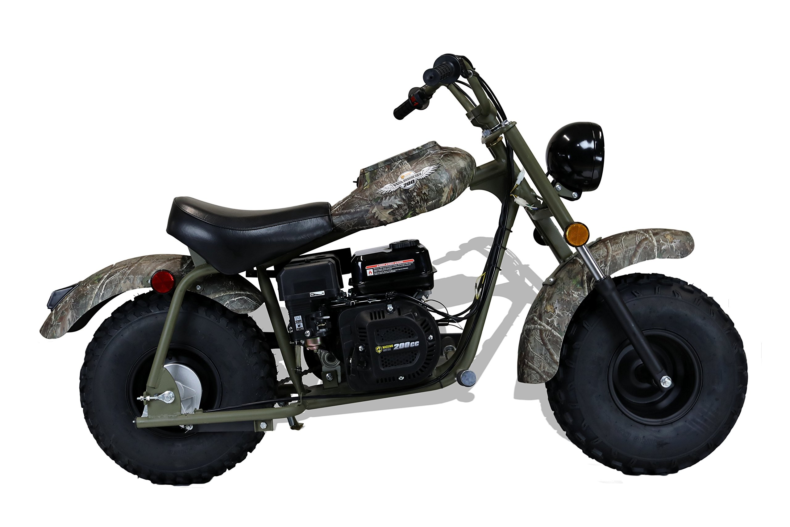 MASSIMO MB200 SUPERSIZED 196CC MINI BIKE - SHIPPING & WARRANTY INCLUDED! by M MASSIMO MOTOR (Image #5)
