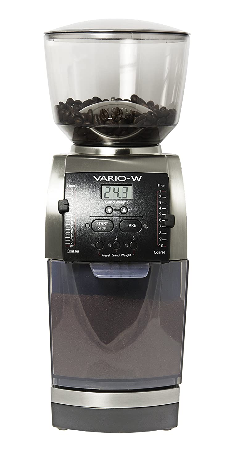 Flat burr coffee grinder