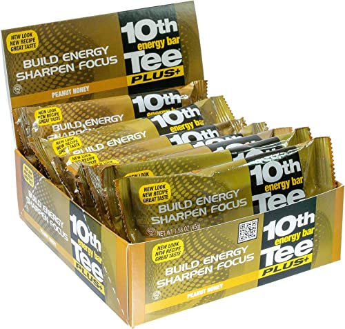 10th Tee Plus Peanut Honey Bars