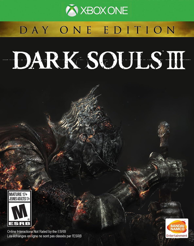 Amazon com: Dark Souls III: Day 1 Edition - Xbox One: Bandai