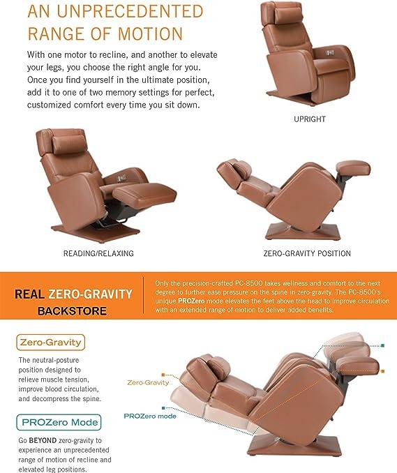 : Perfect Chair Human Touch PC 8500 Zero Gravity