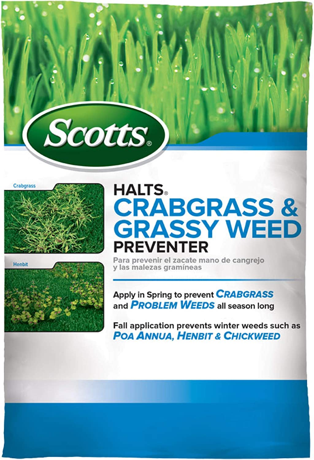 Scotts Halts Crabgrass Preventer