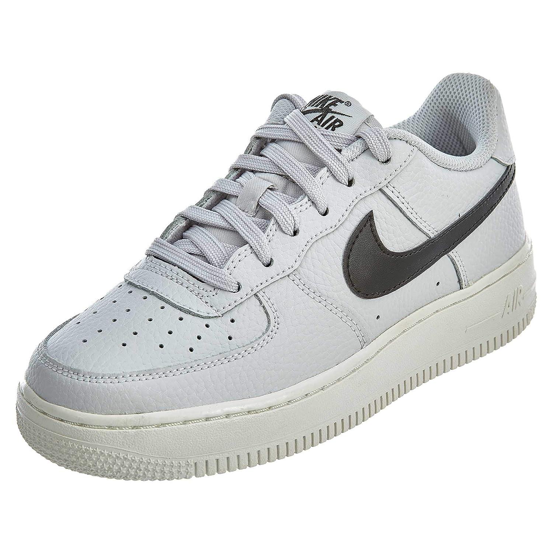 Nike Air Force 1 Gs 314192_Synthetik (Vast Unisex-Kinder Niedrig-Top Sneaker Grau/Schwarz (Vast 314192_Synthetik Grau/schwarz) d7157f