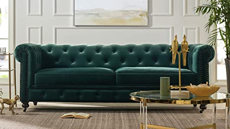 Amazon.com: Jennifer Taylor Home AMVF-3-64020 Spencer Sofas ...