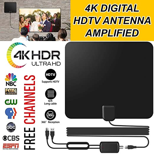 Review Yiwa TV Antenna 80