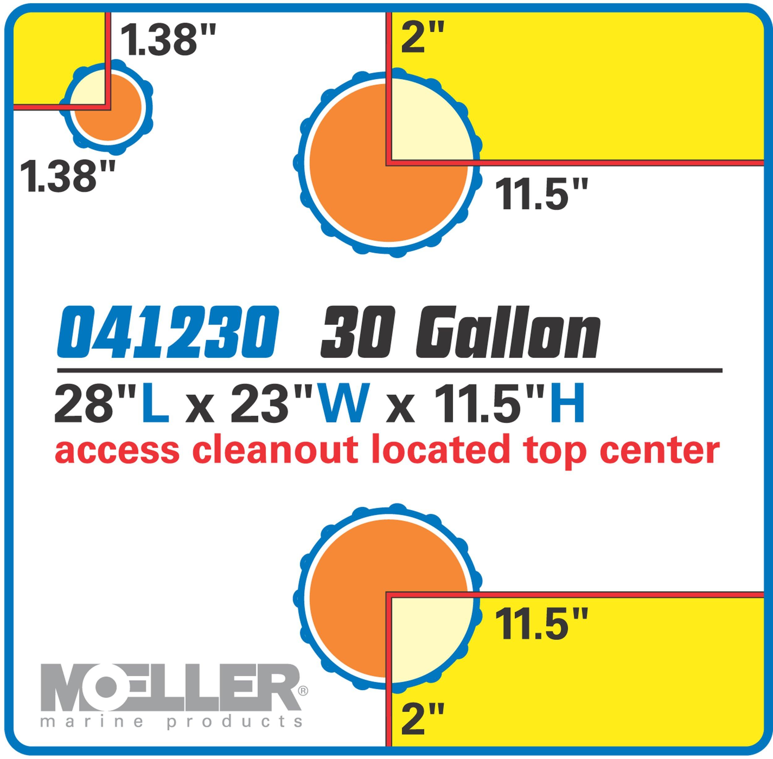 Moeller Marine Waste Tank (30-Gallon) by Moeller Marine