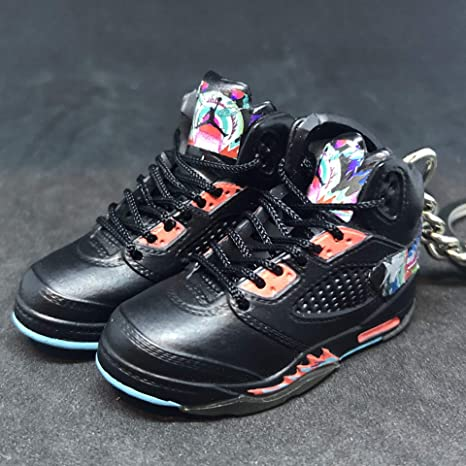 new styles 8be44 eabc8 Amazon.com   Pair Air Jordan V 5 Retro Chinese New Year OG Sneakers Shoes  3D Keychain 1 6 Figure   Everything Else