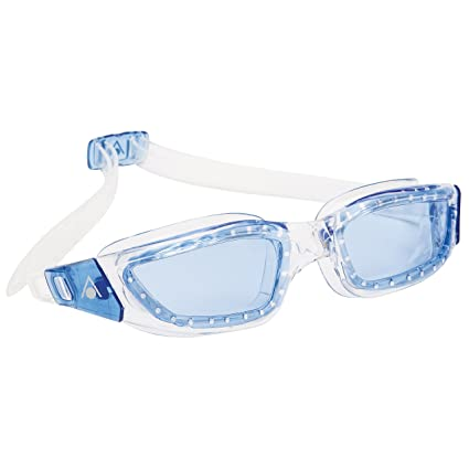 7d7610665 Aqua Sphere Kameleon Swim Goggles with Blue Lens (Clear Blue). UV  Protection Anti