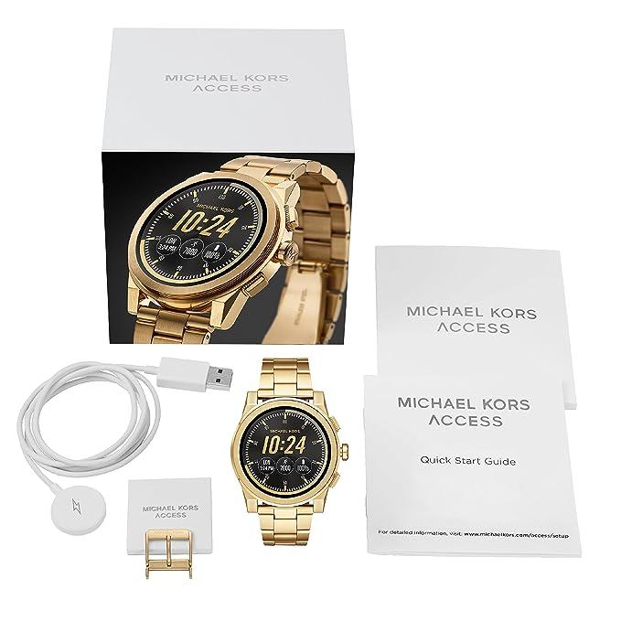 Michael Kors Access MKT5026 Reloj de Hombres: Amazon.es: Relojes