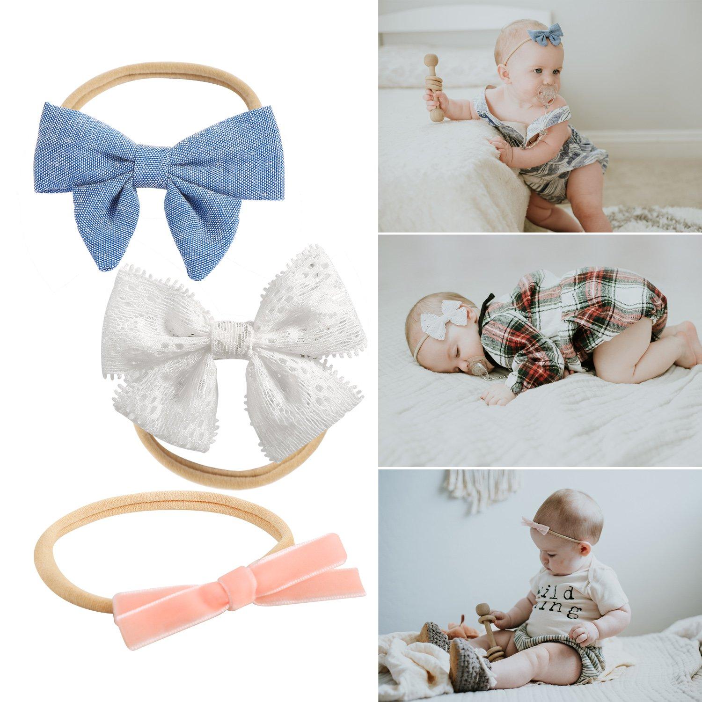943795e3aba2 Amazon.com  Baby Girl Headbands and Bows