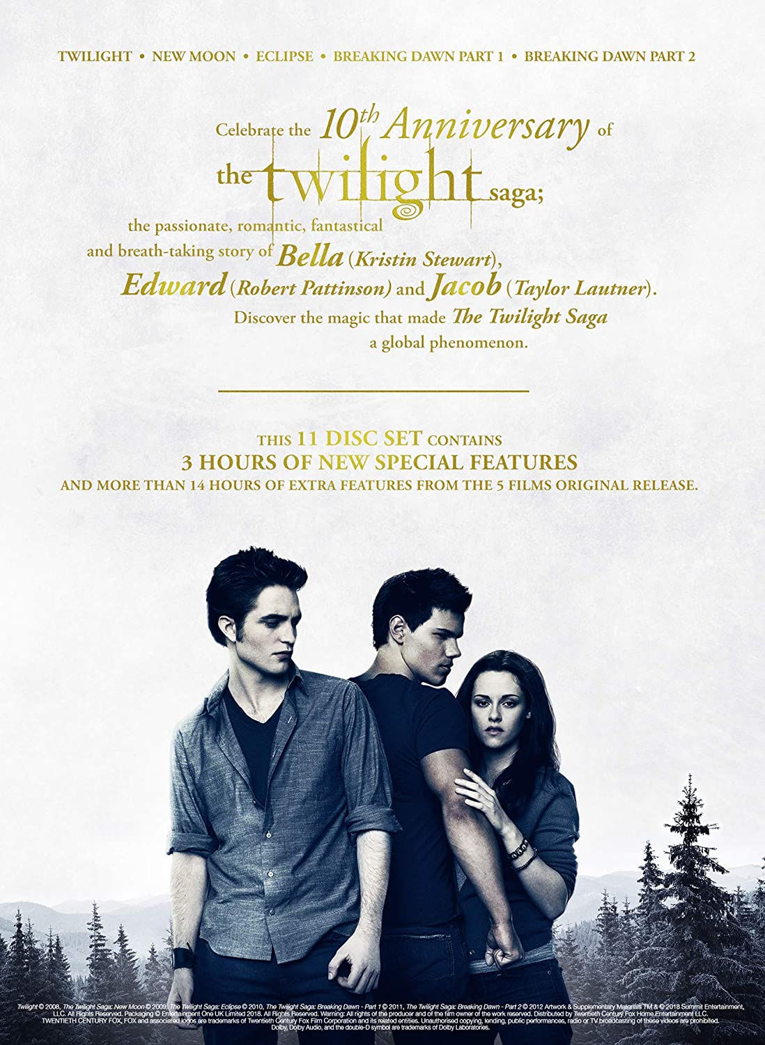Amazon com: The Twilight Saga - The Complete Collection