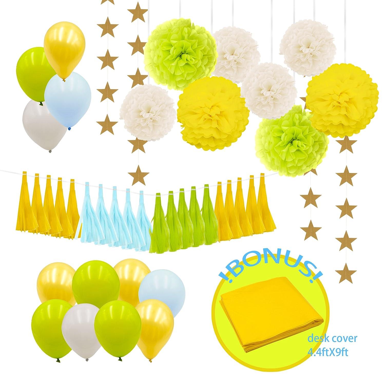 Decorazioni e Composizioni Party/&Co 100 pz Vari Colori. Palloncini Modellabili 2 x 55 in Lattice per Feste Arancio