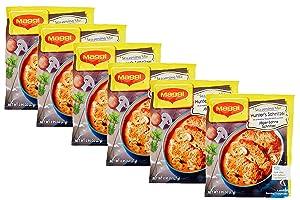 Maggi Fix & Frisch Seasoning Mix- Hunter's Schnitzel in Creamy Mushroom Sauce (Jäger-Sahne Schnitzel), 27 Grams (Pack of 6) in Intfeast Packaging
