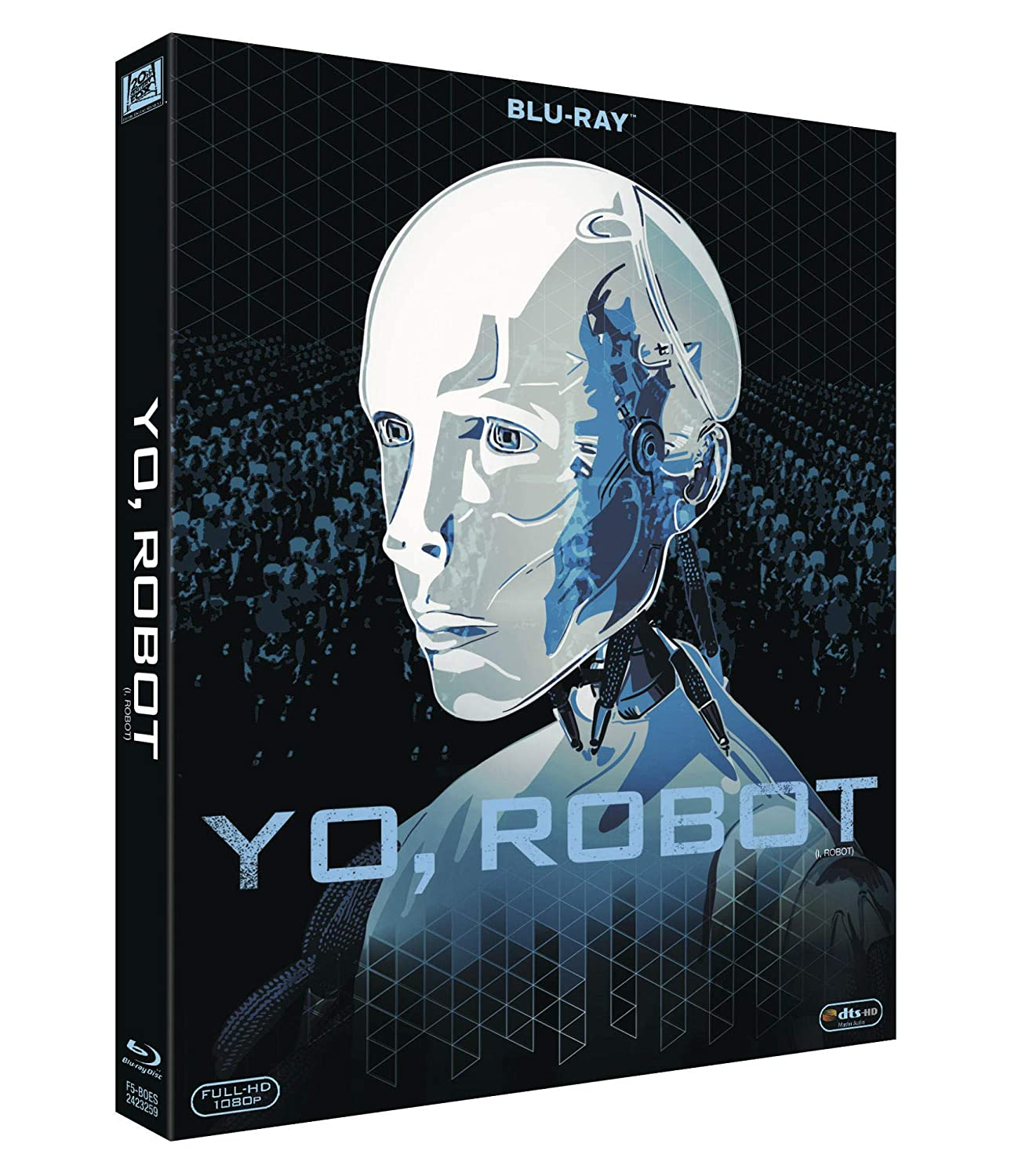 Yo, Robot Blu-Ray - Iconic [Blu-ray]: Amazon.es: Will Smith, Bridget Moynahan, Bruce Greenwood, Chi Mcbride, Alan Tudyk, Alex Proyas, Will Smith, Bridget Moynahan: Cine y Series TV