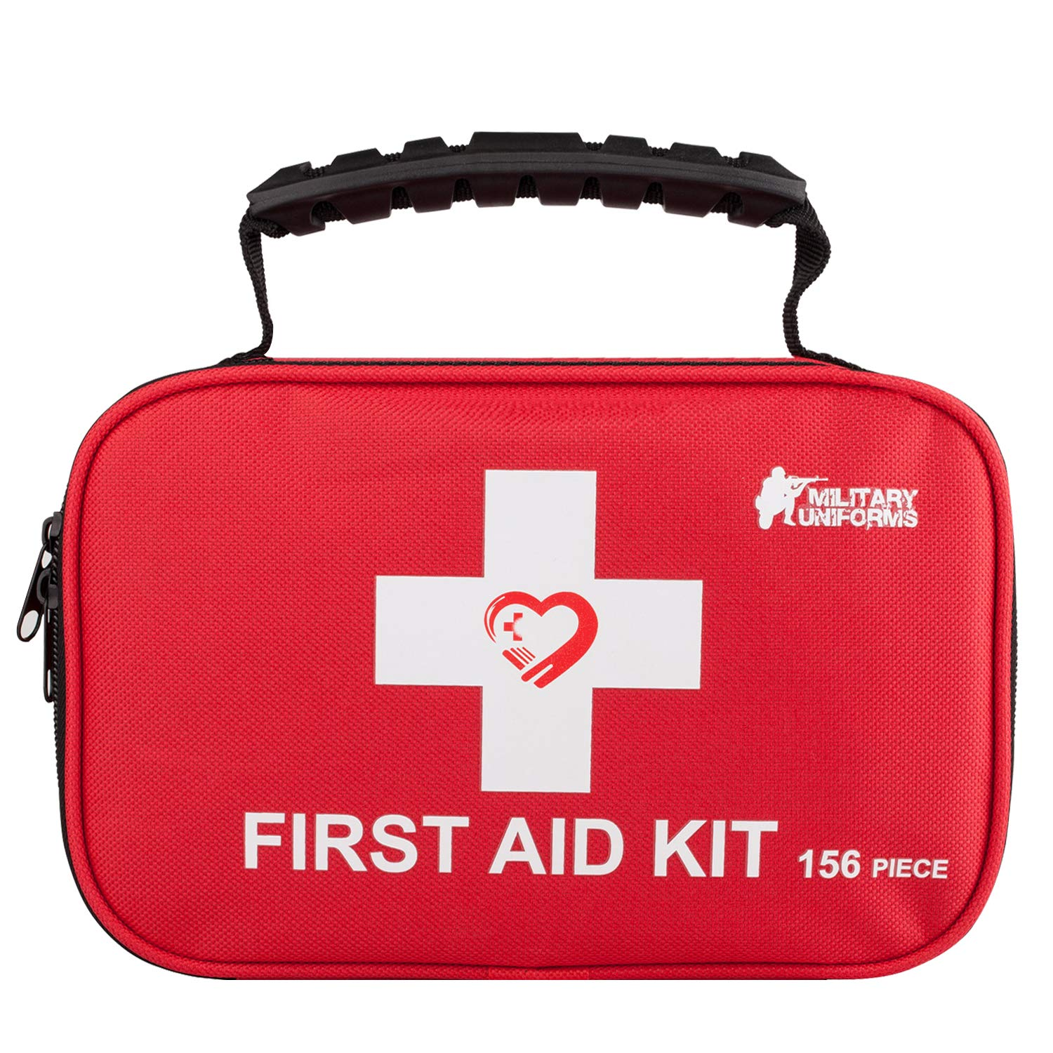 First aid kit,All-Purpose aid kit and Compact Emergency kit First aid for Office,aid Kit Medical for Outdoors,Hiking…