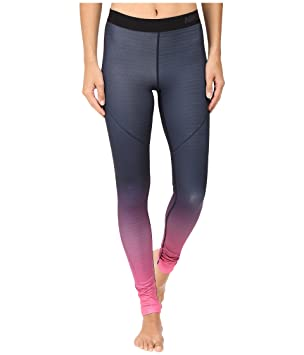 wholesale dealer 3063d 0e055 Nike Pro HyperWarm Women s Training Tights, Hyper Pink Midnight Navy Black,  Medium