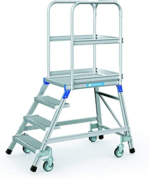 Zarges escalera, por un lado{4} niveles Z600: Amazon.es: Bricolaje y herramientas