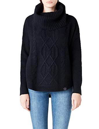 907cd2b3a Superdry - Lia Cable Cowl Neck Jumper
