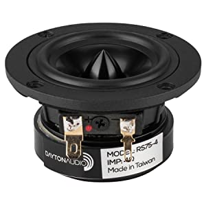"Dayton Audio RS75-4 3"" Reference Full-Range Driver 4 Ohm"