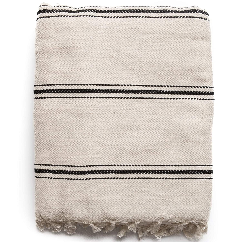 Turkish stripe blanket