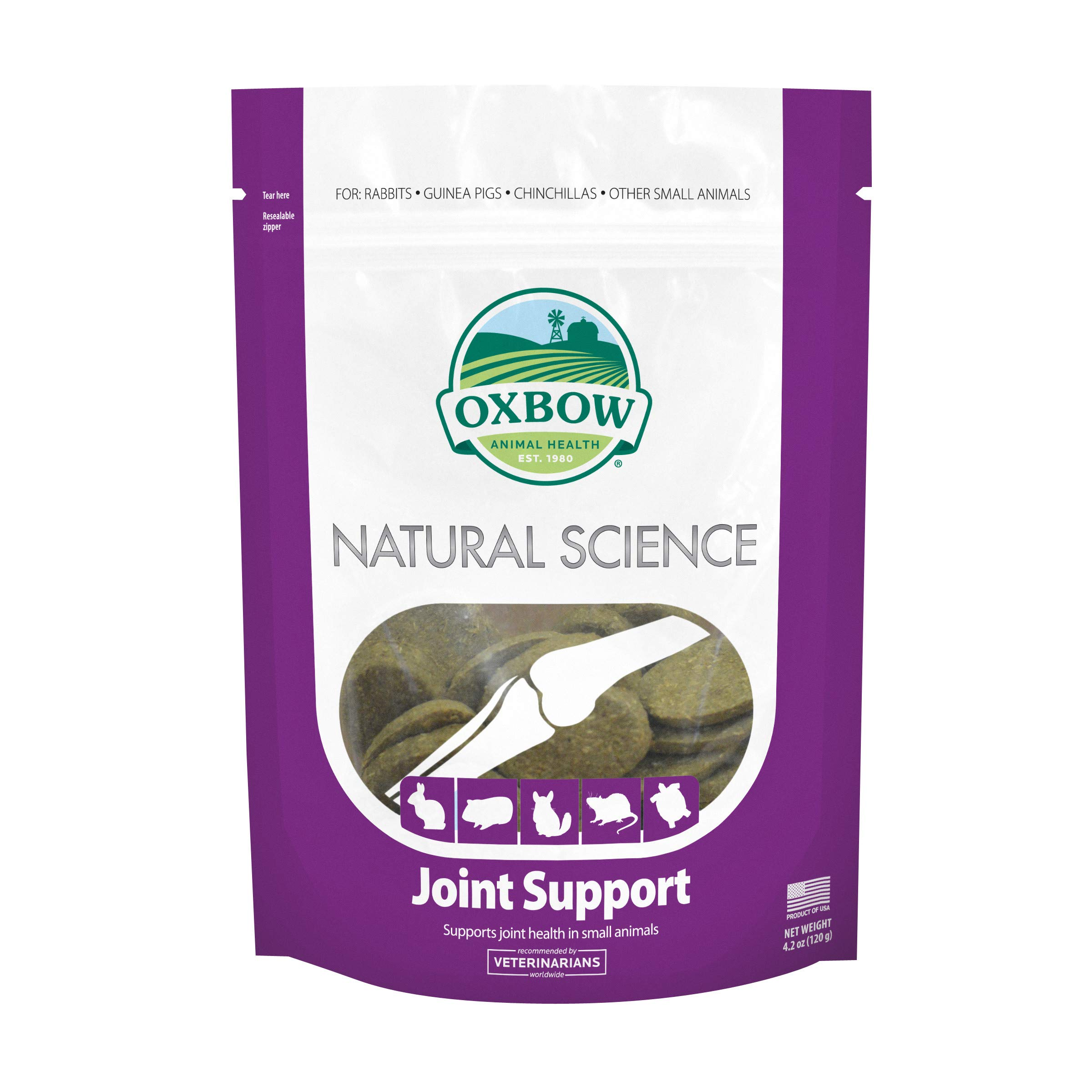 Oxbow Natural Science - Joint Supplement, 60 Count